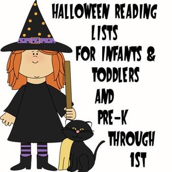 Halloween Reading Lists