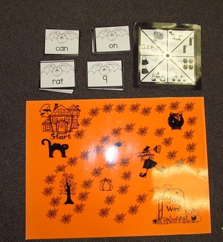 Halloween Reading & Math Race