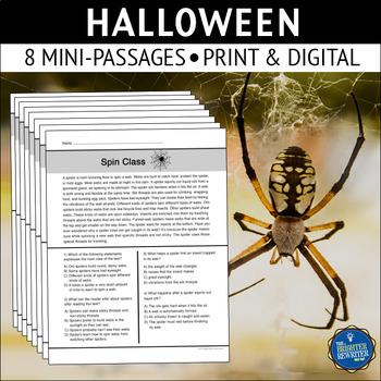 Halloween Reading Mini-Passages