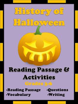 Halloween Reading Passage and Activities