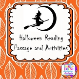 Halloween Reading Passage and Activities