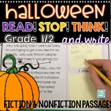 Halloween Reading Passages 1st/2nd Grade ~ Halloween Activities 1st Grade & 2nd
