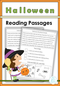 Halloween Reading Passages