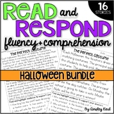 Halloween Reading Passages - Fluency & Comprehension- {DIF
