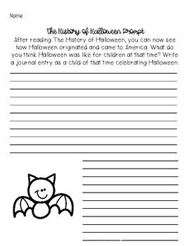 Halloween Reading Passages
