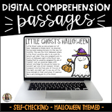 Halloween Reading Passages: Digital