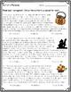Halloween Reading Skills Pack