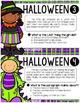 Halloween Reading Task Cards