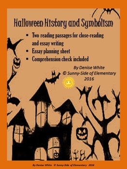 Halloween Reading & Writing