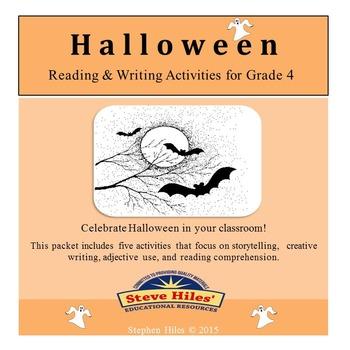 Halloween Reading & Writing Activities for Grade 4