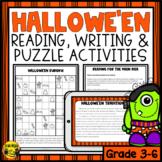 Halloween Reading & Writing Activities