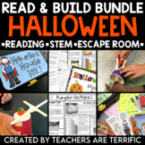 Halloween Reading and Escape Room Bundle