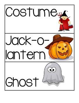 Halloween Reading and Math Activities