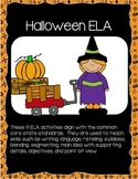 Halloween Bundle of Reading and Math Activities