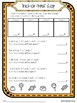 Halloween Reading and Math Activity Pack