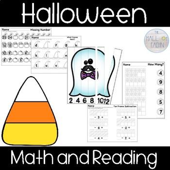 Halloween Reading and Math Fun