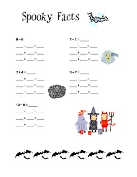 Halloween Reading and Math Mini Unit for Lower Elementary Grades