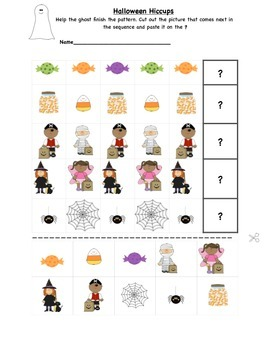 Halloween Reading and Math Printables