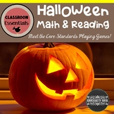 Halloween Reading and Math Games and Activities