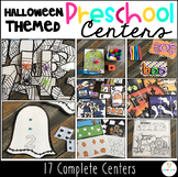 Halloween Ready to Go Centers for Preschool