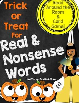 Halloween Nonsense Words