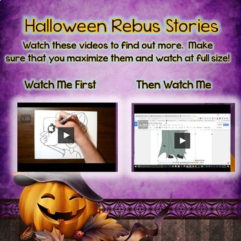 Halloween Word Processing Practice for Google Docs