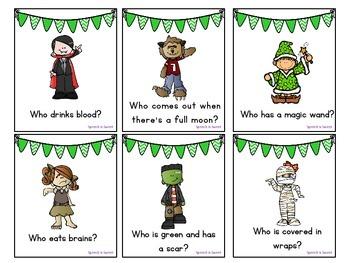 Halloween Receptive Language