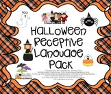 Halloween Receptive Language Pack