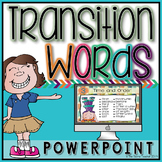 Transition Words PowerPoint Lesson