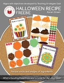 Halloween Recipe Kit FREEBIE