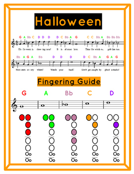 Halloween Recorder Song