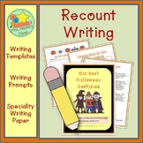 Recount Writing - Halloween Costumes