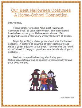 Recount Writing - Halloween Costumes
