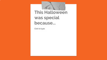 Halloween Reflections - Digital Resource