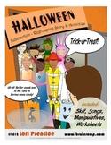 Halloween Regrouping Subtraction Skit