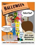 Halloween Regrouping Subtraction Skit
