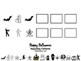 Halloween Repeating Patterns.