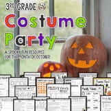Halloween Activities Math Language Games Reading STEM & More THIRD GRADE