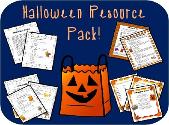 Halloween Resource Pack!