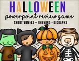 Halloween Review Phonics Game