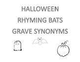 Halloween Rhyme and Synonyms