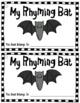 Halloween Rhyming Bat Book