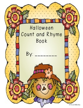 Halloween Count and Rhyme Book