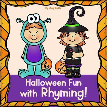 Halloween Rhyming (Kindergarten, Fall Activities)