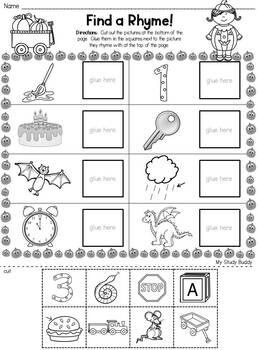 halloween rhyming worksheets halloween activities for kindergarten. Black Bedroom Furniture Sets. Home Design Ideas