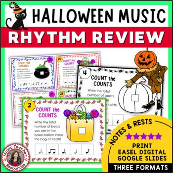 Halloween Music Rhythm: Halloween Rhythm Activities