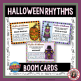 BOOM Cards™ Music- Halloween Rhythm Activities - Digital T
