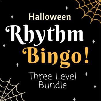 Halloween Rhythm Bingo - Level 1