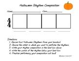 Halloween Rhythm Composition