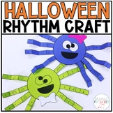 Halloween Rhythm Craft-Spider